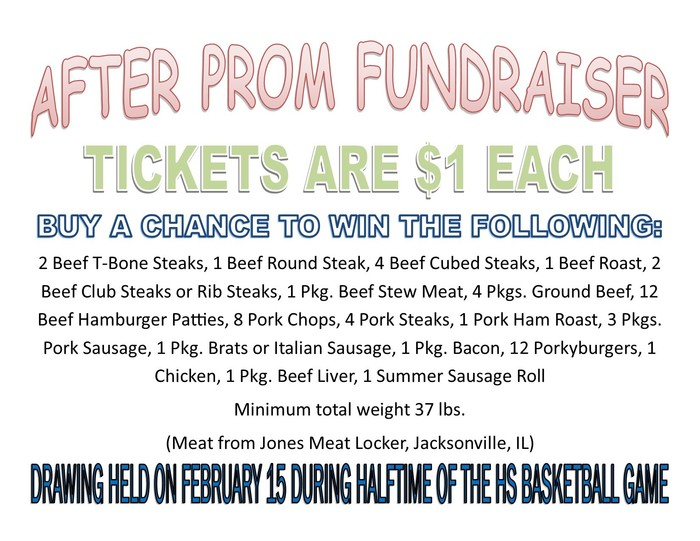 After prom fundraiser